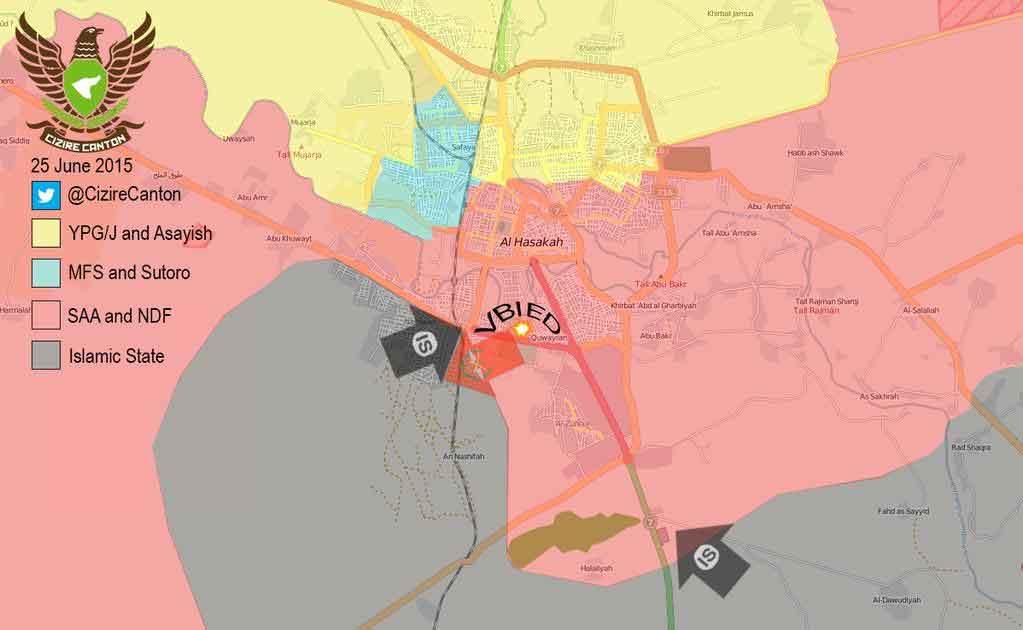 Успех ИГИЛ в Хасаке (тактический успех)