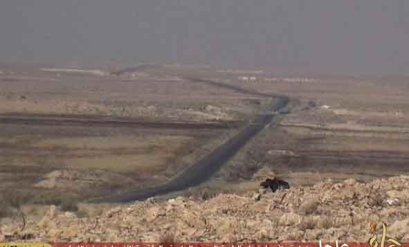 Фото ИГИЛ: дорога Hama- Khanasir- Aleppo