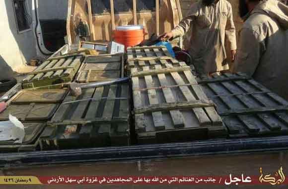 Трофеи ИГИЛ в Хасака