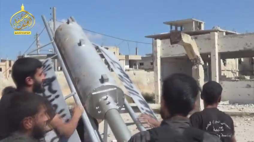 Газо-баллонное оружие новой формы: боевые тактические самодельные ракеты