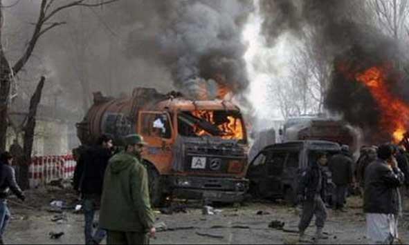 Атака на конвой сил коалиции в Кабуле