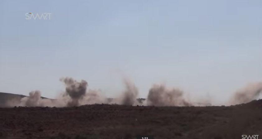 Ожесточенные бои за авиабазу al-Tha'lah, Дараа Второй день