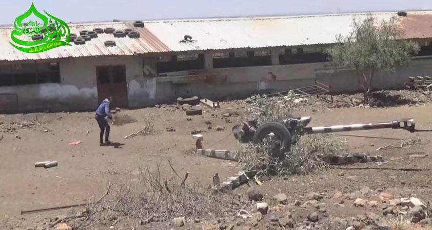 Ожесточенные бои за авиабазу al-Tha'lah