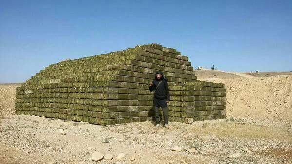 Фото оставленных боеприпасов армией Асада, которые получила ИГИЛ