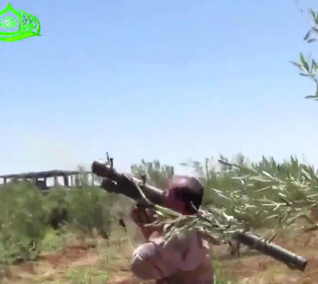 ПЗРК используемые при сражении у авиабазы al-Tha'lah, Дараа