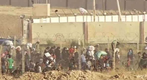 Поступила информация, открылся пропускной пункт в Tal Abyad