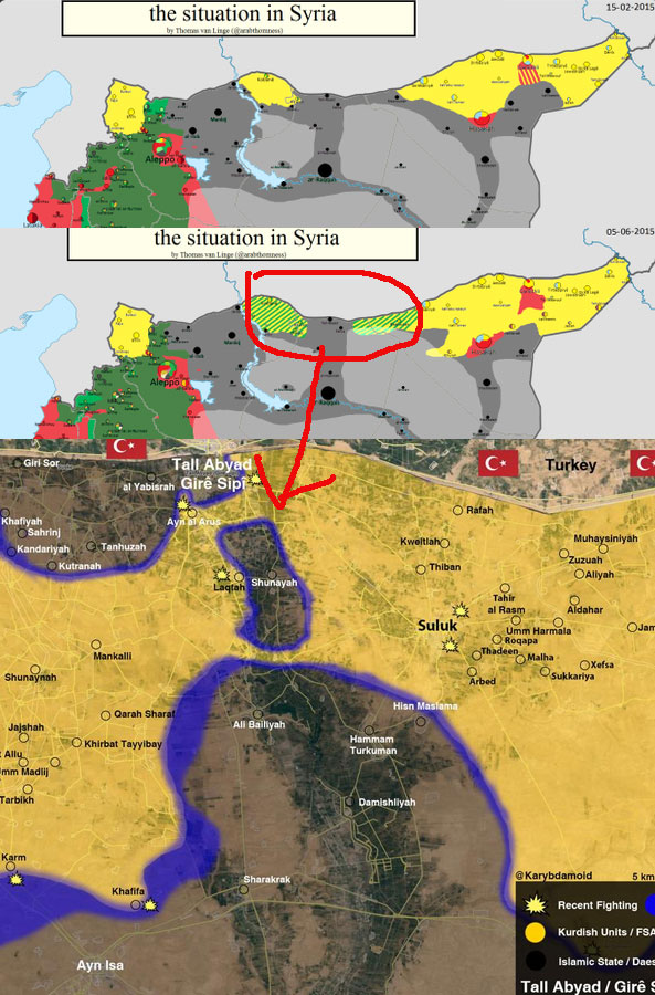 Успехи курдов, от практически полного разгрома, до полного триумфа