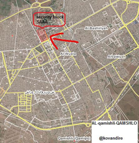 Идут бои между курдами и силами Асада