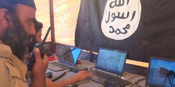 Оперативный штаб ИГИЛ в районе боев за нефтяное месторождение Джазль (провинция Хомс, Сирия)
