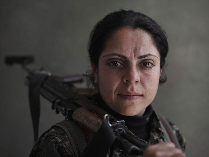 Лицо войны: курдский командир