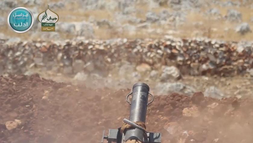 Провинции Идлиб, позиционные бои
