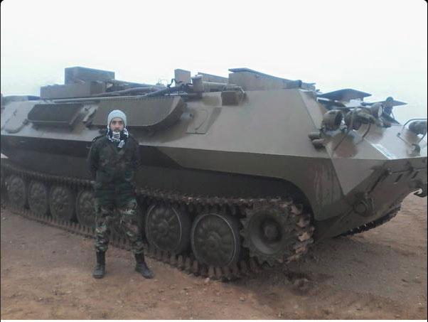 Р-330П Пирамида I Станция помех в УКВ диапазоне на базе МТ-ЛБ (Армия Асада)