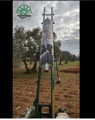 Новое газово-баллонное оружие повстанцев