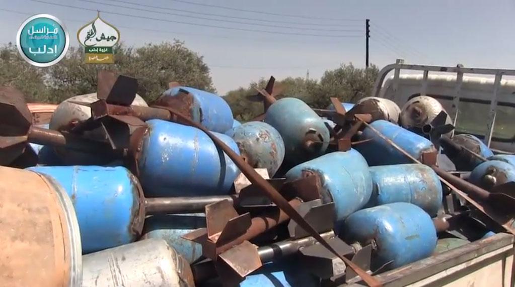 Газо-баллонные снаряды, транспортировка к фронту