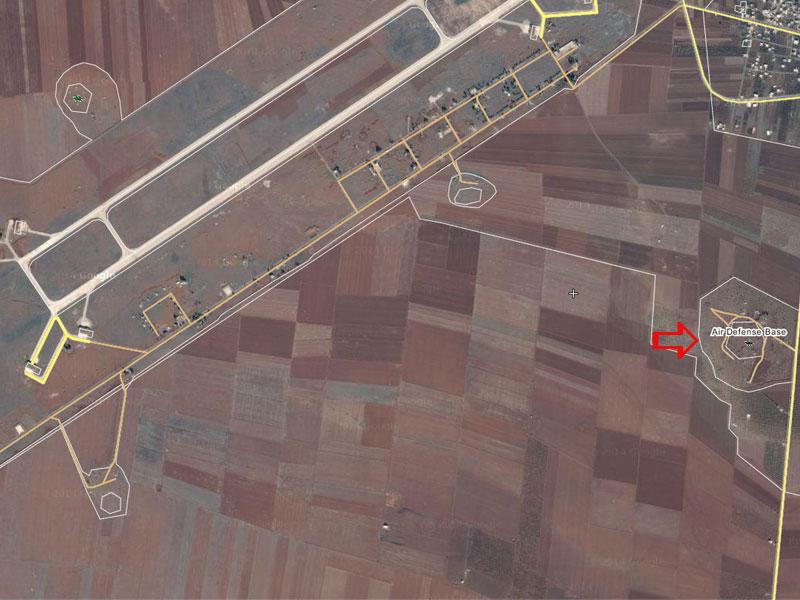 Бои у базы ВВС асадитов al-Tha'lah сместили к точке ПВО