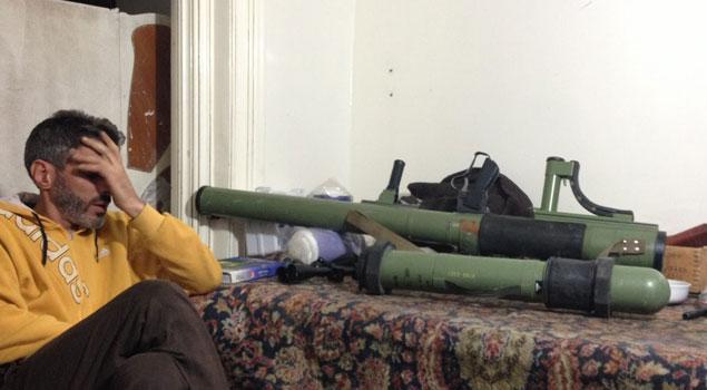 М-79 «Оса» противотанковый югославский гранатомет в Сирии
