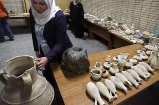Продажа антиквариата ИГИЛ