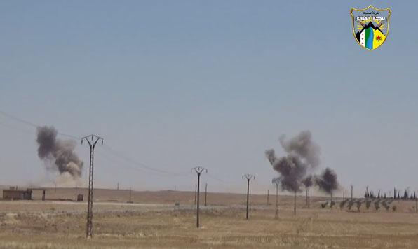 Курды и FSA взяла поселение Ayn Isa и базу 93 бригады