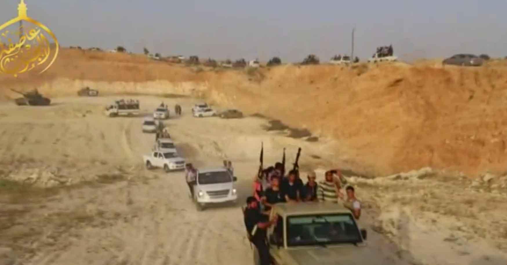 промоушен нового наступления оппозиции в Дараа