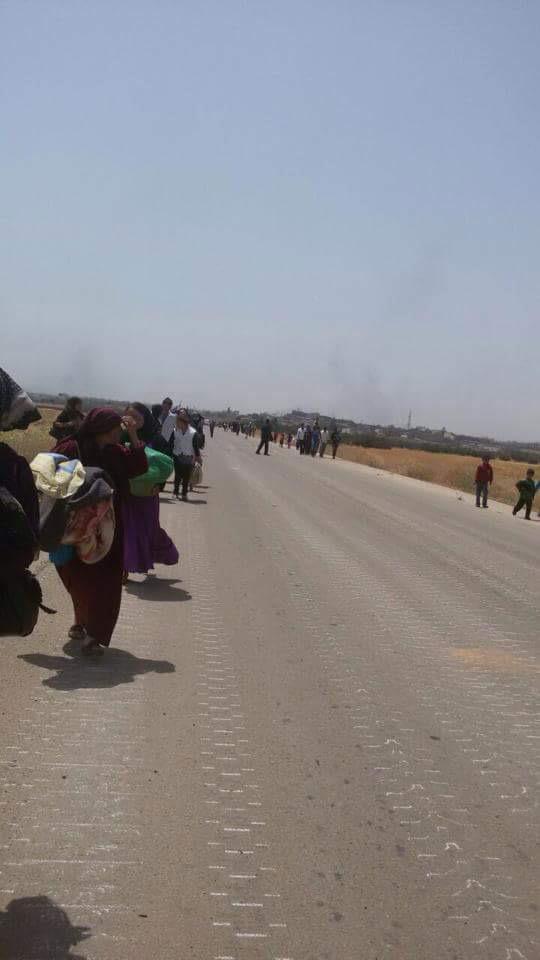 Деревня «ad-Darah», покидают местные жители