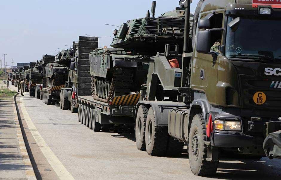 18 000 солдат турецкой армии готовы к вторжению в Сирийской Курдистан в Пятницу