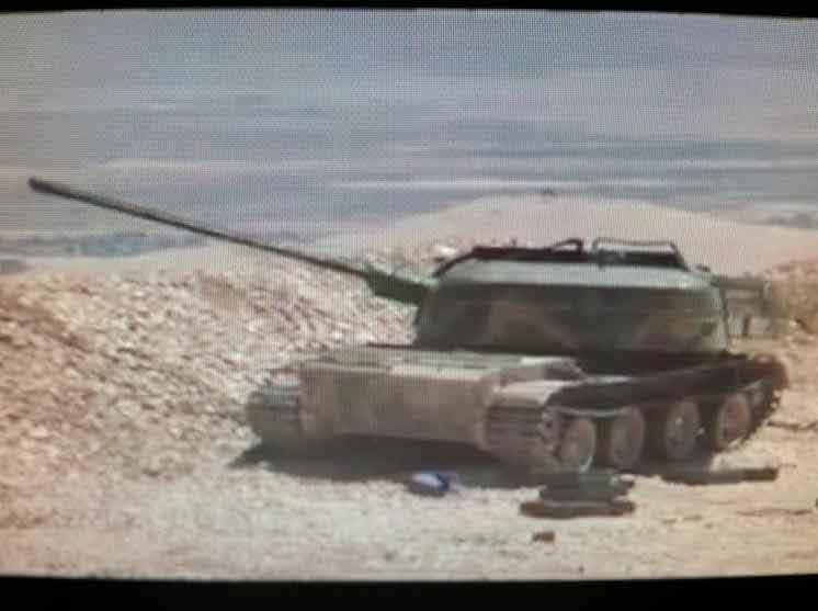ЗСУ-57-2 (объект 500) на базе танка т-54 у армии Асада