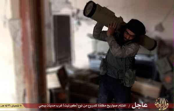 ПТРК Корнет-Э на службе ИГИЛ