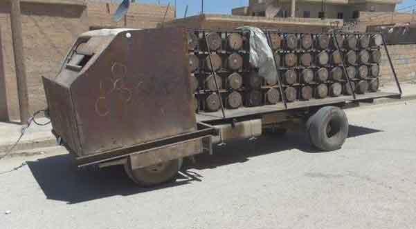 Концепт-кар: автомобиль ИГИЛ для атак боевиков самоубийц
