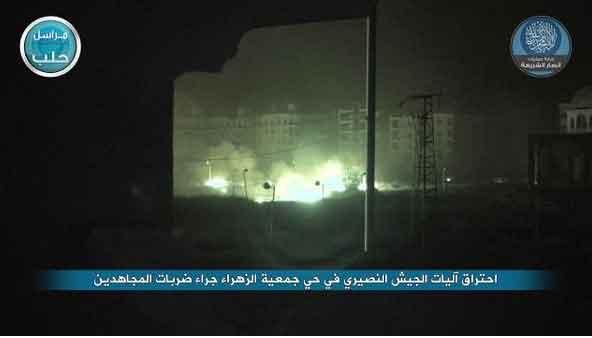Сводка событий Сирийского конфликта за пару последних дней (не Асадовская)