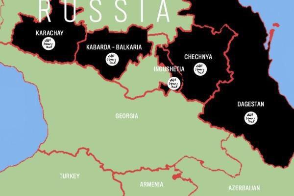 Присутствие ИГИЛ на территории Кавказа, Российская Федерация