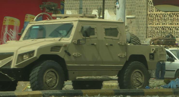 Бронеавтомобиль Nimr, производства ОАЭ в Йемене