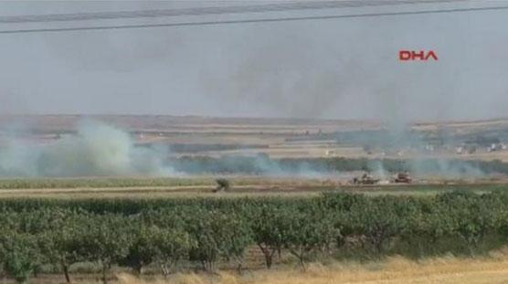 Турция вступила в войну с ИГИЛ, бои на границе