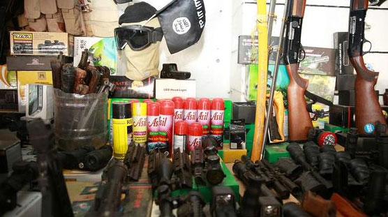 Магазин охотник и рыболов по ИГИЛовски, Мосул, Ирак