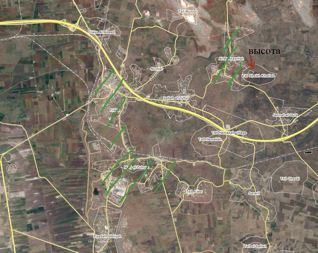 Территории захваченные повстанцами провинции Идлиб