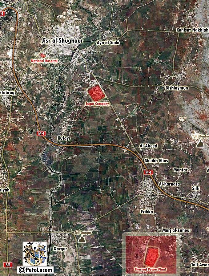 Асадисты начали контрнаступление в провинции Идлиб