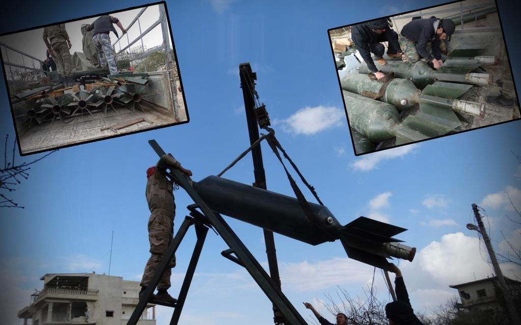 Оружие оппозиции: ракета - Elephant rockets