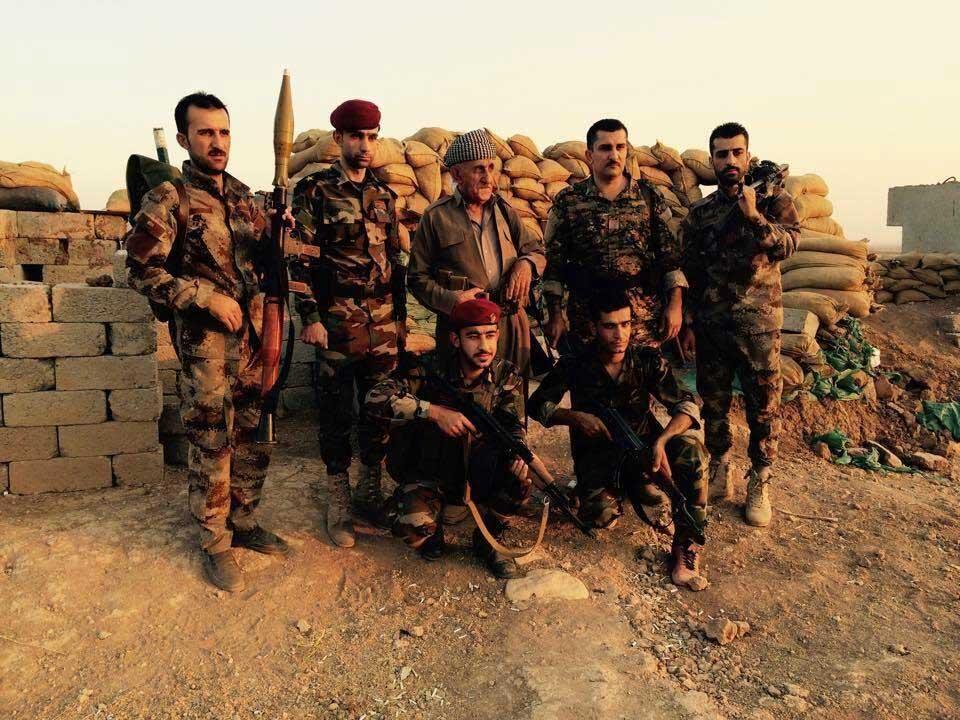 Лицо войны: Ирак, курдские территории - Отец и 6 сыновей на передовой против ИГИЛ