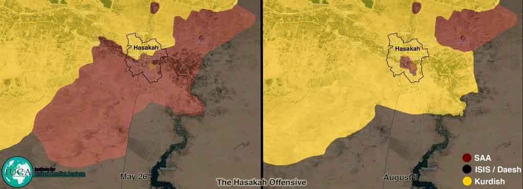 Еще одна карта аль Хасака