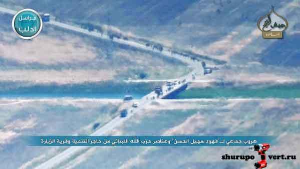 Результат контратаки Асада: разгром группировки войск Асада в районе поселения Тель Васет