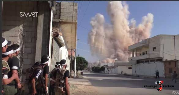 Анклав Фах и Кафра стали целью компании оппозиции за нападение Асадистами на Забадани