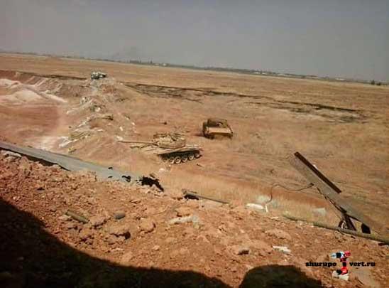 Неудачная операция ИГИЛ в районе Kweiris авиабазы, успех Асадовцев