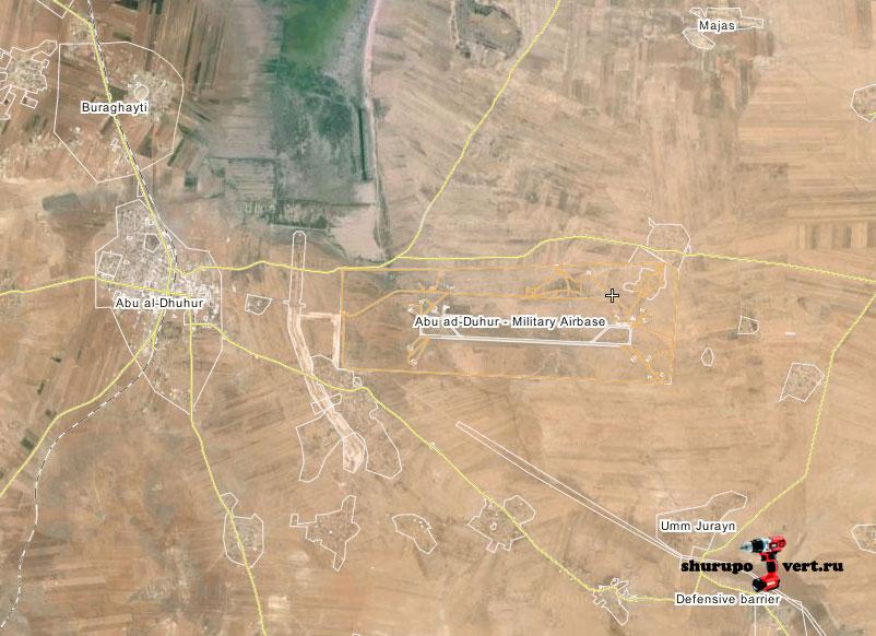 Наступление оппозиции в Идлиб: цель авиабаза Abu ad-Duhur