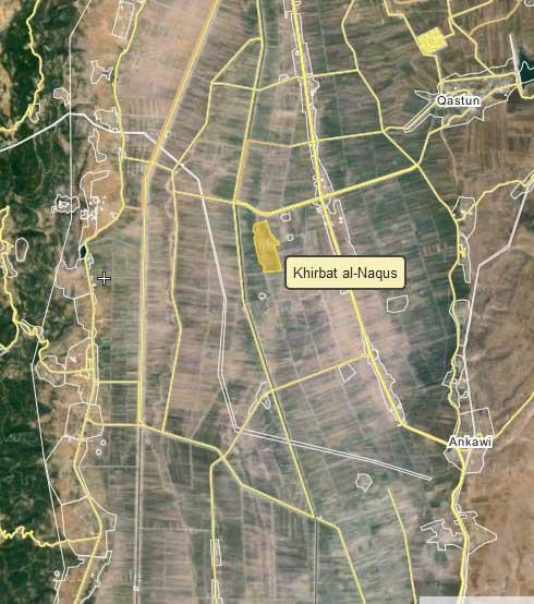 оставили новое поселение для оппозиции, на этот раз Khirbat al-Naqus.