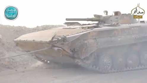Трофеи оппозиции после провала наступления Асада на равнине аль Габ