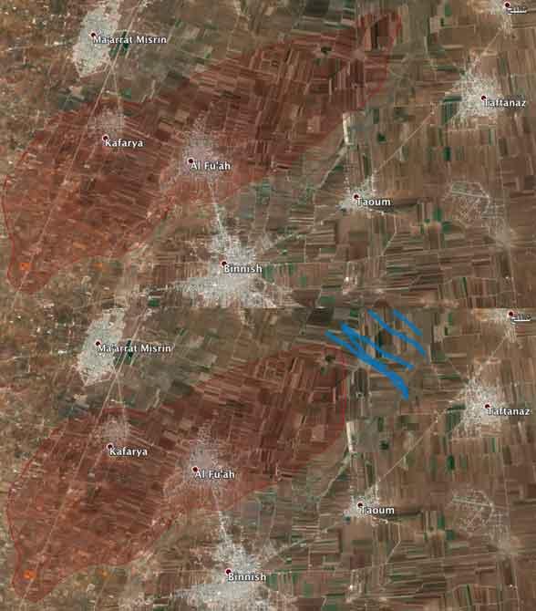 Шиитский анклав сил Асада в Идлибе снова под ударом оппозиции