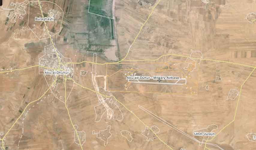 Под прикрытием пещанной бури оппозиция начала новое наступление на авиабазу Abu ad-Duhur