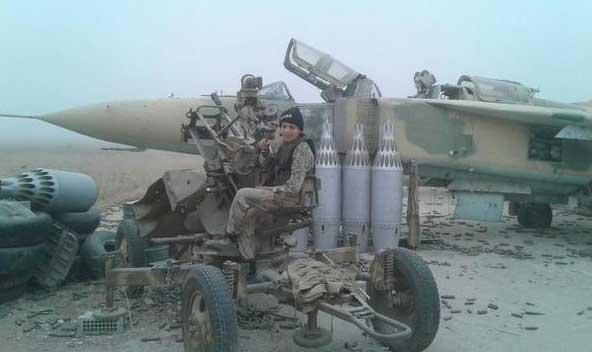 Оппозиция внутри военного аэродрома Abu Dhour (Абу Дахур)?