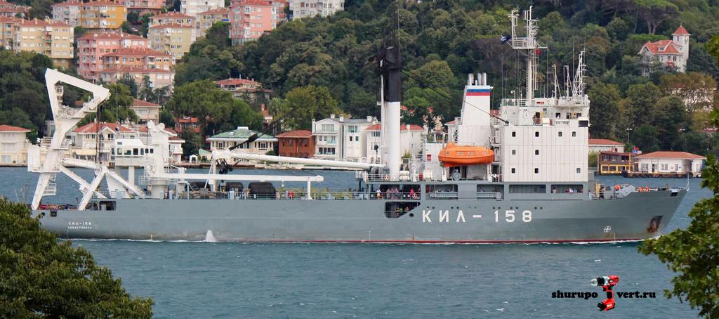"""""""Сирийский экспресс"""" продолжает спасать режим Асада: Килекторное судно """"КИЛ-158"""", спешит спасти режим"""