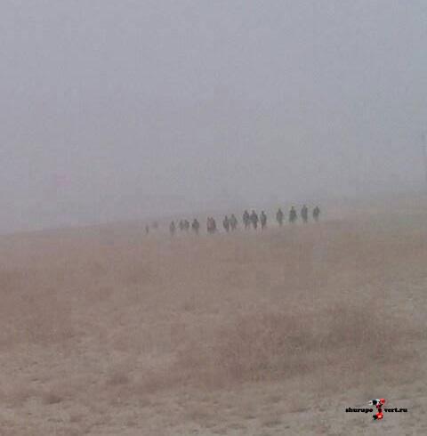 Асадисты после двух лет обороны базы уходят в пустыню, их судьба не известна