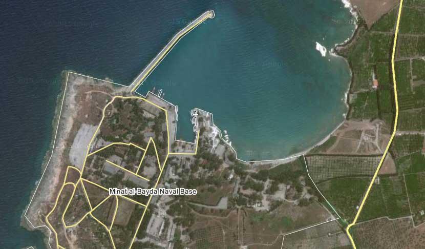 Военно-морская база Минат